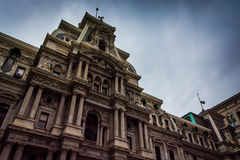 City Hall in downtown Philadelphia, Pennsylvania. Royalty Free Stock Image