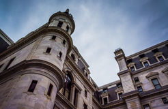 City Hall in downtown Philadelphia, Pennsylvania. Royalty Free Stock Photos