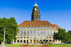 City hall dresden Royalty Free Stock Photos