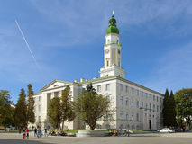 City Hall of Drohobych, Ukraine royalty free stock image