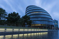City Hall in the early morning. London, England, United Kingdom Stock Photo