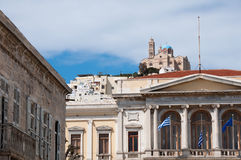 City Hall of Ermoupolis (Greece) Stock Photo