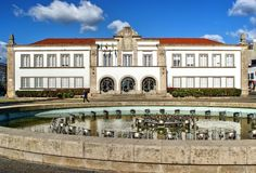 City Hall of Espinho royalty free stock images