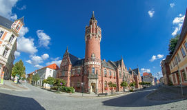 City Hall. European Style. Royalty Free Stock Image