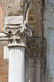 City Hall. Ferrara. Emilia-Romagna. Italy. Royalty Free Stock Images