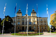 City hall in Finnish town Royalty Free Stock Photography