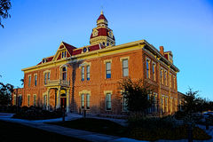 City Hall. In Florence, AZ at sunset stock photo