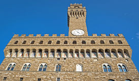 The City Hall Of Florence. In Italy Stock Photography