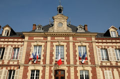 The city hall of Gasny in Eure Royalty Free Stock Photos