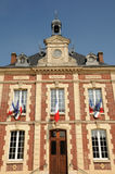 The city hall of Gasny in Eure Royalty Free Stock Photography