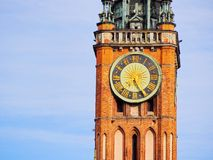 City Hall in Gdansk, Poland Royalty Free Stock Photo