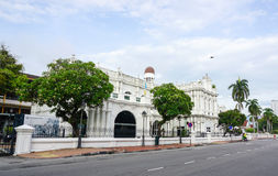 The City Hall at George Town in Penang, Malaysia Royalty Free Stock Photo
