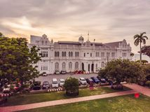 City Hall in George Town - Penang, Malaysia. British built historical building completed 1903 became the City Hall of royalty free stock photos