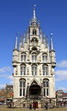 City Hall.Gouda Royalty Free Stock Images