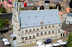 City hall of Gouda in miniature, Holland Royalty Free Stock Photography