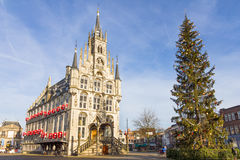 City hall in Gouda, The Netherlands Stock Photography
