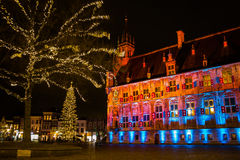The city hall of Gouda in the Netherlands Royalty Free Stock Photo