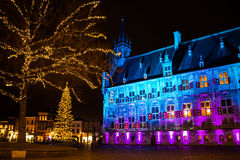 The city hall of Gouda in the Netherlands Royalty Free Stock Image