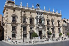 City Hall in Granada, Spain. Outdoors, heritage. Royalty Free Stock Images