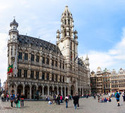 City hall at Grand Place Stock Image
