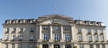 City hall of Gueret Stock Image