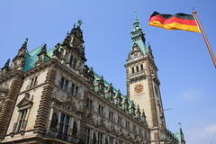 City Hall in Hamburg Stock Image