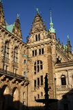 The city hall of hamburg Stock Photos