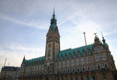 City Hall of Hamburg, Germany Stock Photos