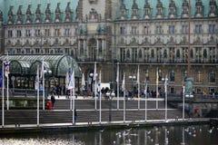 City Hall Hamburg Stock Photos
