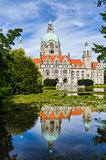 City Hall of Hannover, Germany royalty free stock image