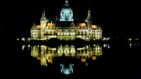 City hall of Hannover. The city hall of Hannover in germany Stock Photos