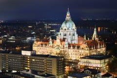City Hall of Hannover, Germany Royalty Free Stock Photo