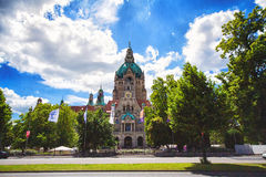 City Hall of Hannover in Hannover Royalty Free Stock Photo