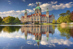 City Hall of Hannover. Stock Photos