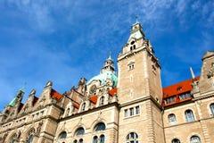 City Hall in the Hanover city Stock Photos