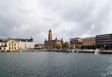 City Hall in Helsingborg, Sweden Stock Images