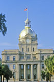 City Hall in historic downtown Savannah, Savannah, Georgia Royalty Free Stock Photo