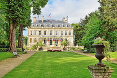 City hall in historical center of Epernay Royalty Free Stock Photos