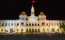 The City Hall of Ho Chi Minh Stock Image