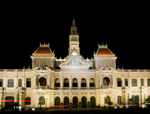City Hall of Ho Chi Minh City Royalty Free Stock Image