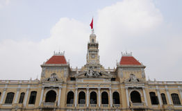 City Hall of Ho Chi Minh city (Saigon) Royalty Free Stock Photography