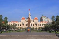 City Hall Ho Chi Minh City Saigon Vietnam Stock Photo
