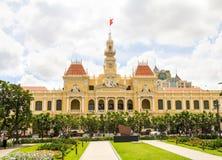 City Hall in Ho Chi Minh City Saigon Vietnam Royalty Free Stock Image