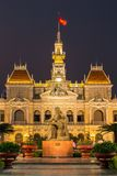 The City Hall in Ho Chi Minh City Royalty Free Stock Image