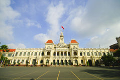 The City Hall of Ho Chi Minh City in Vietnam Stock Photography