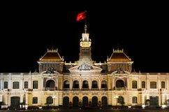 The city hall of Ho chi minh Vietnam Royalty Free Stock Photography