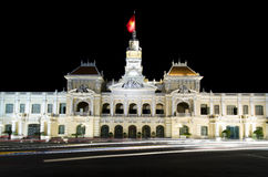 The city hall of Ho chi minh Vietnam Stock Images