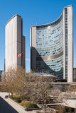 City Hall - home of municipal government of Toronto Royalty Free Stock Images