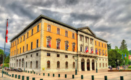 City hall (Hotel de ville) of Annecy Stock Photography