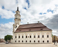 City Hall in Kaunas. Lithuania Stock Photos